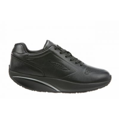 MBT 1997 Black Leather Woman Trainers