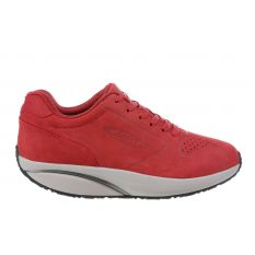 MBT 1997 Nubuck Red Woman Trainers